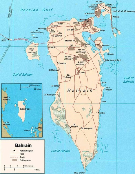 Bahrain road Map