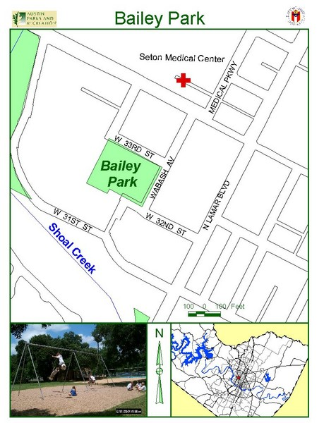 Bailey Park Map
