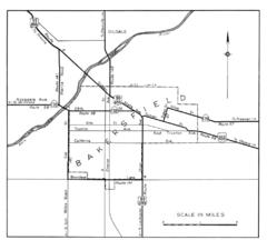 Bakersfield City Limits Map Bakersfield Ca Mappery
