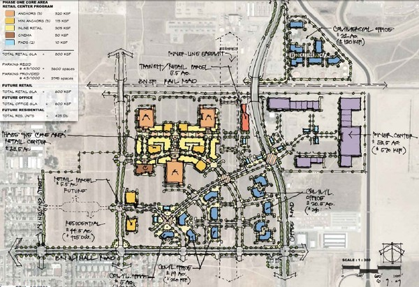Bakersfield Commons Phase 1 Alt Map