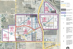 Bakersfield Commons Proposed Retention Areas Map