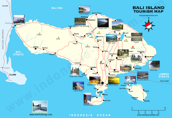 Indonesia maps mappery – Indonesia Tourist Attractions Map