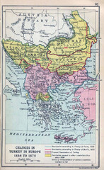 Balkan Peninsula Historical Map
