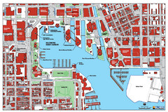 Baltimore Harbor Map