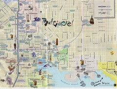 Baltimore Tourist Map