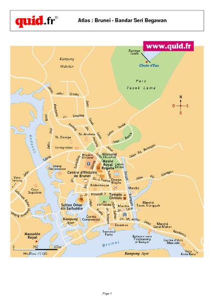 Bandar Seri Begawan Map Bandar Seri Begawan Brunei mappery