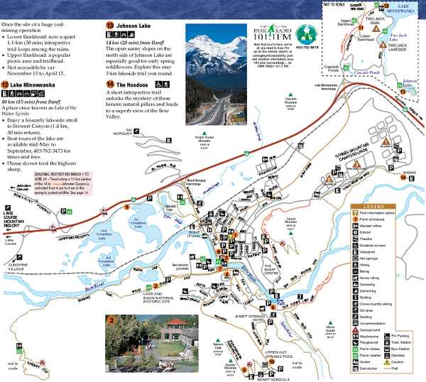 Banff national park map banff national park alberta mappery fullsize banff national park map gumiabroncs Choice Image