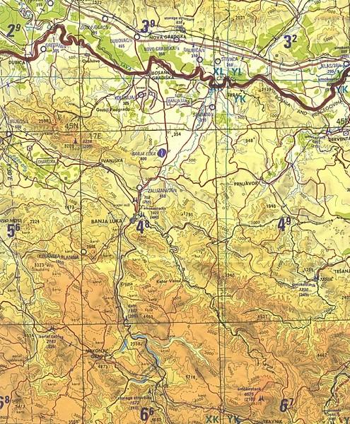 Banja Luka Region Map Banja Luka Bosnia mappery