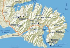 Banks Peninsula Map