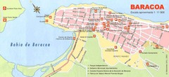 Baracoa Tourist Map