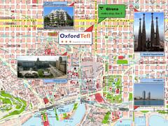 Barcelona Surrounding Area Road Map Barcelona Spain mappery