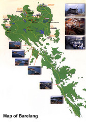 Barelang Bridge Map