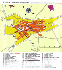 Barisciano Tourist Map