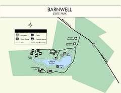 Barnwell State Park Map