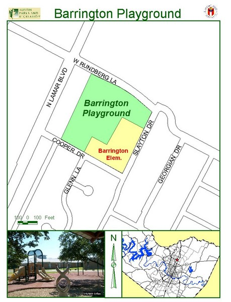 Barrington Park Map