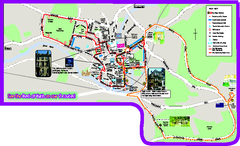 Bath Bus Tour Map