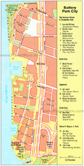 Battery Park City Map