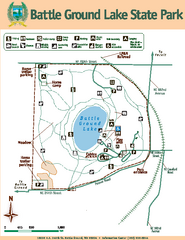 Battle Ground Lake State Park Map