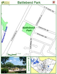 Battlebend Park Map