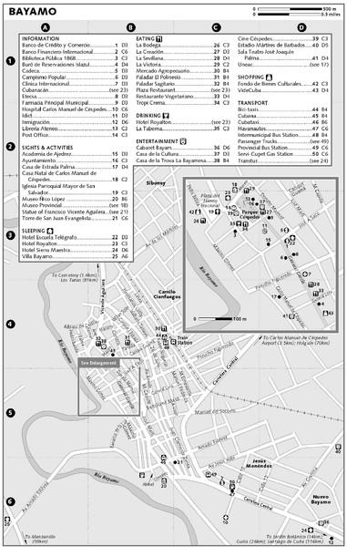 Bayamo Map Bayamo mappery