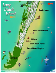 Beach Haven, New Jersey Map