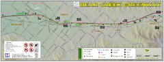 Bear Creek Greenway Map