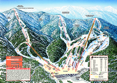 Bear Mountain Ski Trail Map