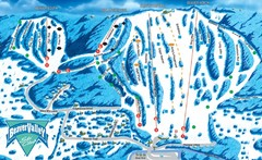 Beaver Valley Ski Trail Map