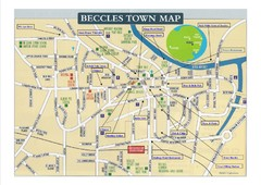 Beccles Town Map