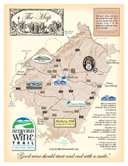 Bedford Wine Trail Map