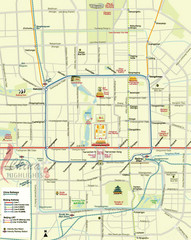 Beijing City Center Map
