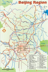 Beijing Region Tourist Map