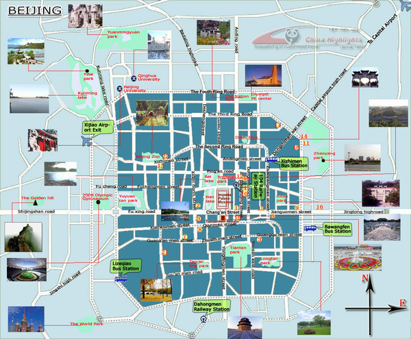 Beijing Tourist Map Beijing mappery – Taiwan Tourist Attractions Map