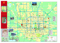 Beijing Tourist Map