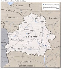Belarus Defense Facilities Map