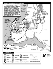 Belcarra Regional Park Trail Map