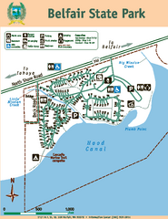 Belfair State Park Map
