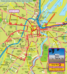 Belfast Bus Tour Map