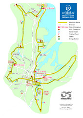 Belfast City Marathon Map