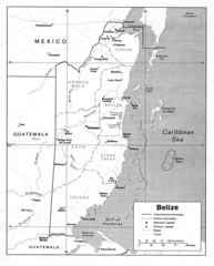 Belize (Political) U.S. Department of State 1990...
