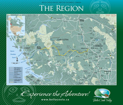 Bella Coola Valley Region Map