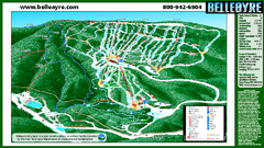 Belleayre Mountain Ski Trail Map
