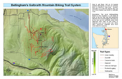 Bellingham Galbraith Mountain Biking Trail Map