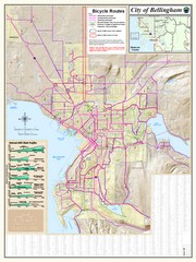 Bellingham, Washington City Map