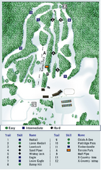 Ben Eoin Ski Trail Map