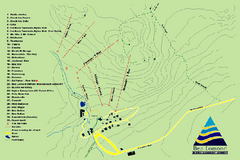 Ben Lomond Ski Trail Map