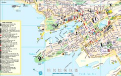 Bergen, Norway Tourist Map