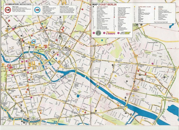 Berlin City Map Berlin Germany mappery – Berlin City Map Tourist