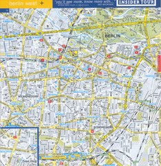 Berlin Street Map - West