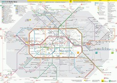 Berlin Transit Map